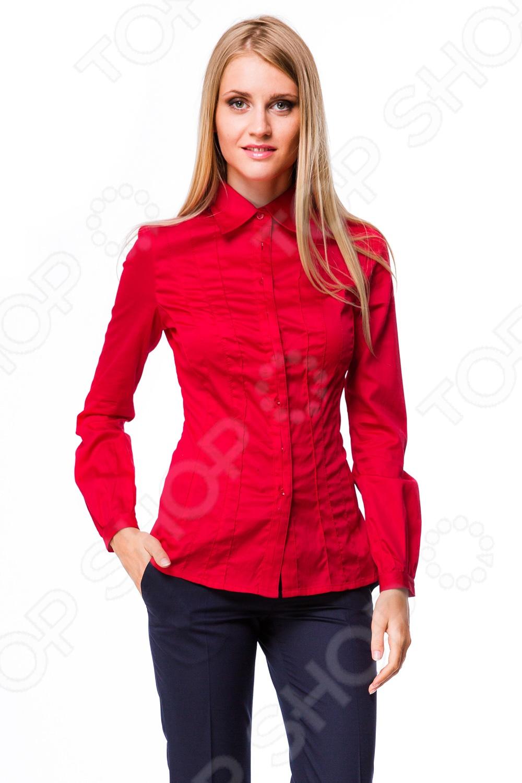 Купить красного цвета женскую блузку
