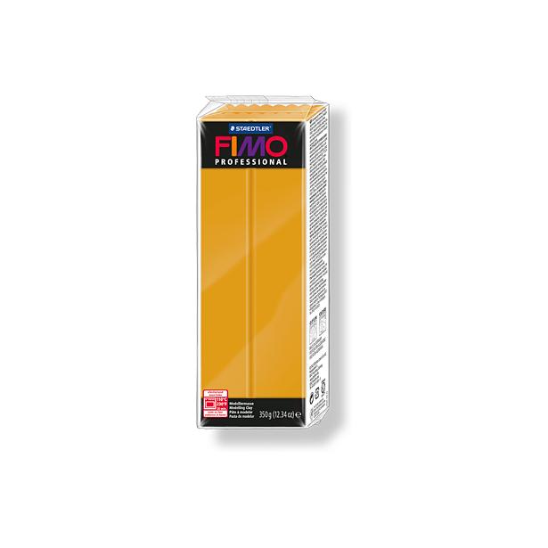 фото Глина полимерная запекаемая Fimo Professional 8001. Цвет: охра
