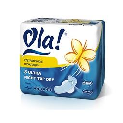 фото Прокладки Ola Ultra Night Top Dry