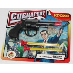 фото Оружие игрушечное Кроха Пистолет малый Спецагент