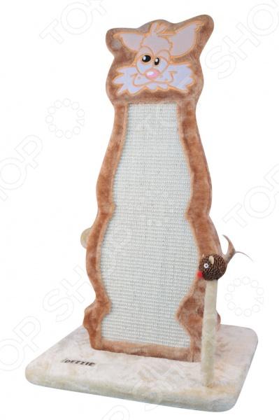 Когтеточка DEZZIE Мурсия незаменимая вещь для заботливых хозяев. С ее помощью когти вашей кошки всегда будут в порядке, а мебель, обои и ковры в целости и сохранности. При этом когтеточка занимает в квартире мало места. А за счет игровых элементов это изделие увлечет и развлечет кошку.