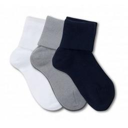 фото Комплект детских носков Teller First Step Gift. Цвет: белый, серый, синий. Размер: 18-22