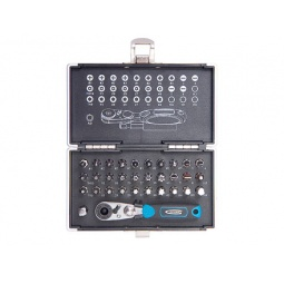 Купить Набор бит с магнитным адаптером GROSS в кейсе