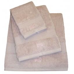 фото Полотенце TAC Basic. Размер: 50х90 см. Плотность ткани: 500 г/м2. Цвет: светло-розовый