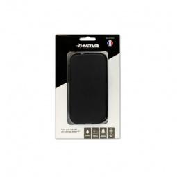 фото Чехол для Galaxy S III Nova Flip-Side кожаный. Цвет: черный