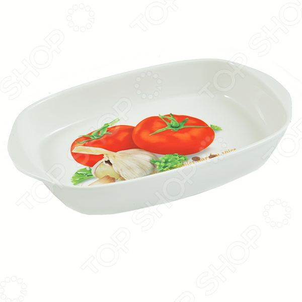 Блюдо-шубница Elan Gallery «Помидоры»