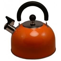 фото Чайник со свистком Катунь KT 105. Цвет: оранжевый