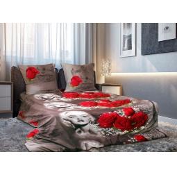 фото Комплект постельного белья Amore Mio Romantica. Mako-Satin. 2-спальный