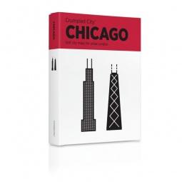 Купить Карта туристическая мятая Palomar Chicago