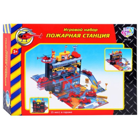 Купить Набор игровой для мальчика PlaySmart «Пожарная станция»