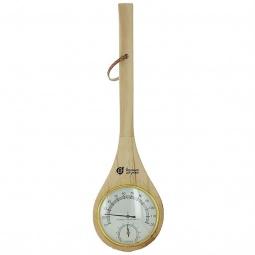 фото Термометр для бани и сауны Банные штучки «Черпак» с гигрометром