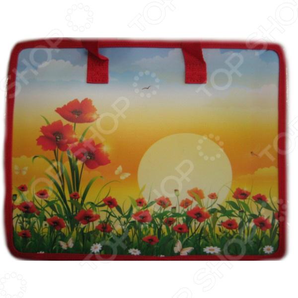 Сумка-портфель Beifa «Цветочки»