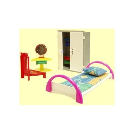 Купить Набор мебели игрушечный Форма «Спальня». В ассортименте
