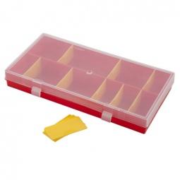 фото Коробка для мелочей Полимербыт «Профи 4». В ассортименте
