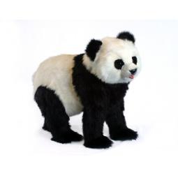 фото Мягкая игрушка для ребенка Hansa «Панда идущая»