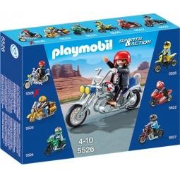 фото Конструктор игровой Playmobil «Коллекция мотоциклов: Мотоцикл орел»