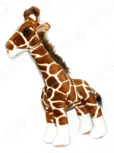 Мягкая игрушка для ребенка Hansa «Жираф» 1671 hansa смесительhansa polo 51442173 для ванны с душем