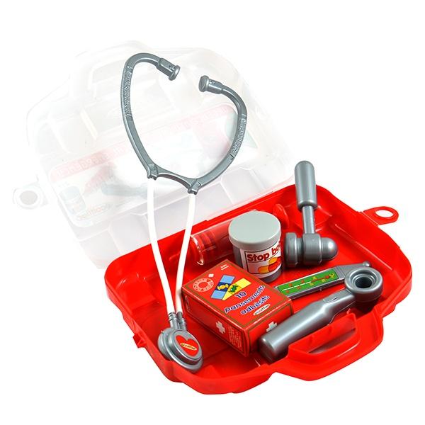 Игровой набор для девочки Ecoiffier «Набор доктора в чемоданчике» швейный набор sewing kit в чемоданчике