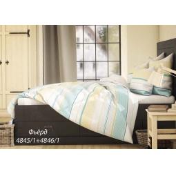 фото Комплект постельного белья Волшебная ночь «Фьёрд». 2-спальный. Размер наволочки: 40х40 см — 2 шт, 50х70 см — 2 шт. Тип ткани: сатин-роял