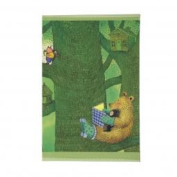 фото Обложка для паспорта Mitya Veselkov «Мишка с книжкой»