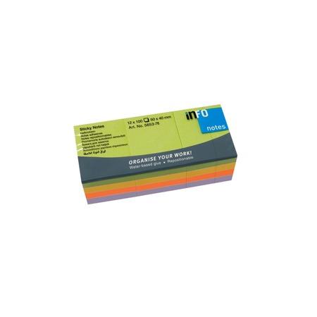 Купить Блок-кубик для записей Info Notes 5653-76