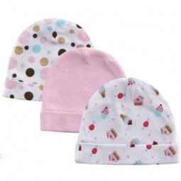 Купить Комплект шапочек Luvable Friends из 3 штук