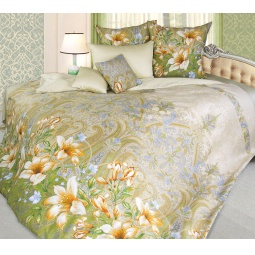 фото Комплект постельного белья Королевское Искушение «Жозефина». 2-спальный. Размер простыни: 220х195 см