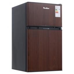 фото Холодильник Tesler RCT-100. Цвет: коричневый