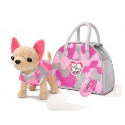 фото Плюшевая игрушка Simba «Собачка чихуахуа с сумкой»
