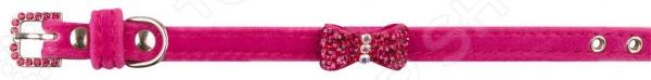 Ошейник для собак DEZZIE «Хейдзи». Цвет: розовый ошейник для собак dezzie балто цвет фиолетовый