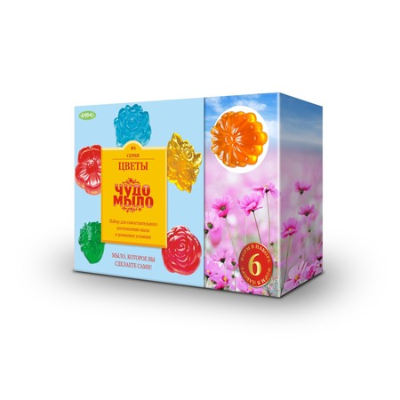 Купить Набор для изготовления мыла Karras «Цветы»
