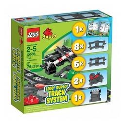 Купить Дополнительные элементы для поезда LEGO 10506