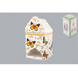 фото Банка для чайных пакетиков Elan Gallery «Бабочки»