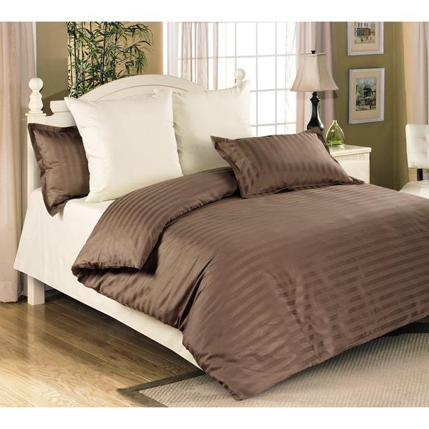 фото Комплект постельного белья Королевское Искушение «Мокко». Евро