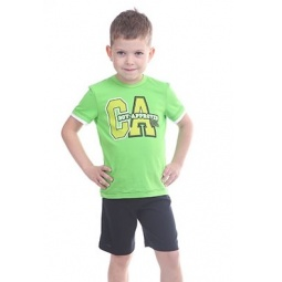 фото Комплект для мальчика: футболка и шорты Свитанак 606495. Размер: 28. Рост: 98 см