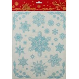фото Пленка декоративная для окна Феникс-Презент 31244 «Снежинки 3»
