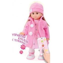 фото Кукла интерактивная Shantou Gepai «Настенька с мобильным приложением»
