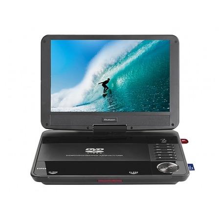 Купить DVD-плеер портативный Rolsen RPD-10D08D