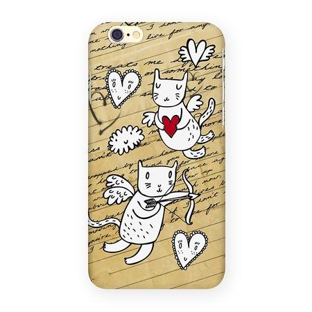 Чехол для iPhone 6 Mitya Veselkov «Коты-амуры» IP6 201
