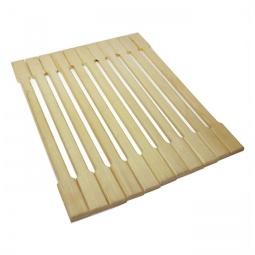 Купить Коврик деревянный Банные штучки липовая рейка