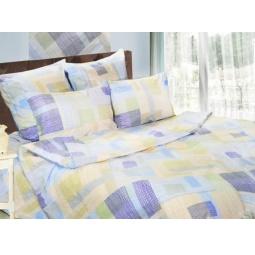 фото Комплект постельного белья Сова и Жаворонок «Спектр». Семейный. Размер наволочки: 50х70 см — 2 шт.