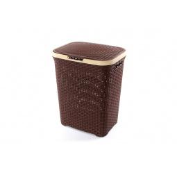 Купить Корзина для белья с крышкой Violet 1840 «Ротанг»