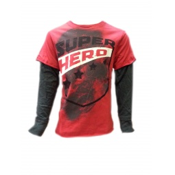 фото Лонгслив Warrior Poet Super Hero T-Shirt. Рост: 98-104 см