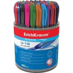 Купить Набор ручек шариковых Erich Krause Ultra Glide Technology U-18: 40 цветов