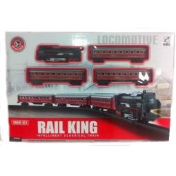 фото Набор железной дороги игрушечный Rail King «Локомотив» 1707183