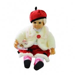 фото Кукла интерактивная Shantou Gepai «Настенька»