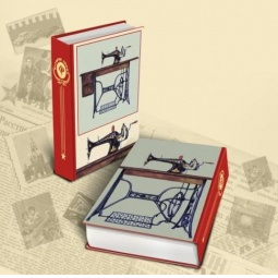 фото Книга-шкатулка Феникс-Презент «Советская швейная машинка»