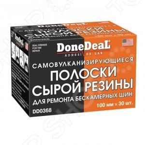 Жгуты самовулканизирующиеся для ремонта шин Done Deal DD 0368 набор для ремонта камер и надувных резиновых изделий done deal dd 0332