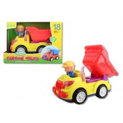 фото Машинка игрушечная Bairun «Самосвал с водителем»