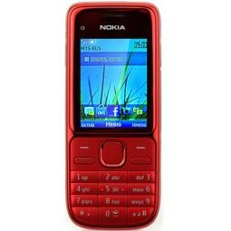 фото Мобильный телефон Nokia C2-01. Цвет: красный